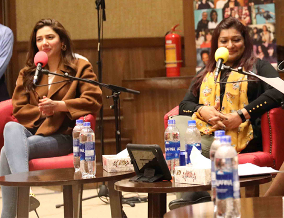Feb 11, 2019: BBC: The Conversation held at IBA Karachi