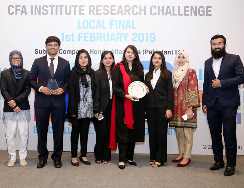 Feb 1, 2019: IBA Team Wins Two Awards at CFA Institute Research Challenge 2018-19