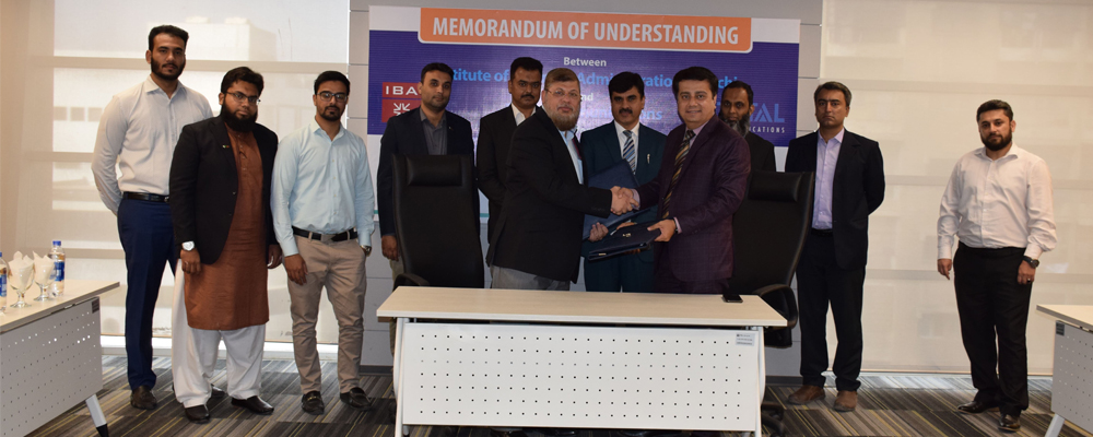 IBA-CICT and Total Communications, Pakistan ink MoU