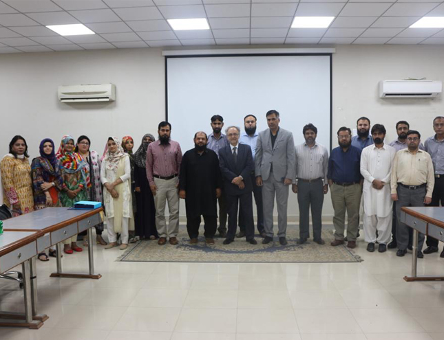 Workshop conducted on blooms taxonomy at Dow university of Health Sciences Karachi