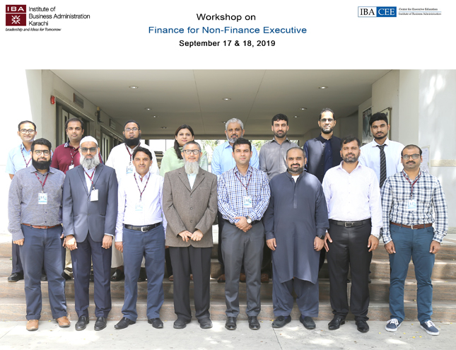 IBA-CEE Hosted Workshop on Finance for Non-Finance Executives