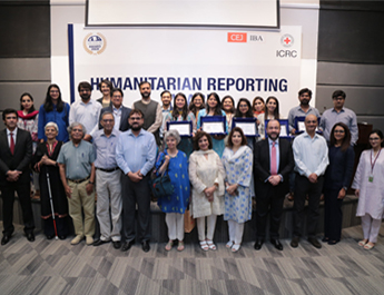 CEJ-IBA and ICRC recognize work of 7 journalists on Humanitarian Reporting