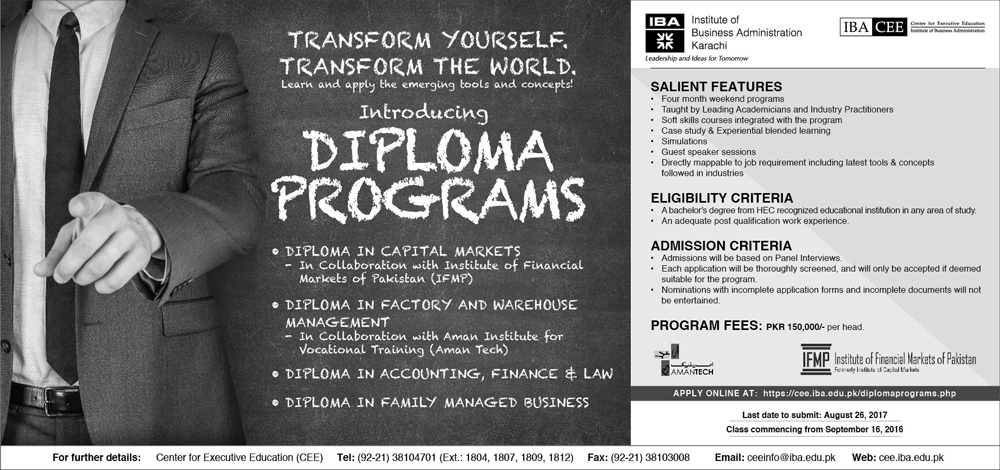 diploma programs