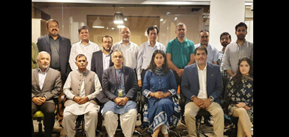 ED Engagements Islamabad Alumni Chapter hosts the Executive Director Chapter launches student scholarship fund