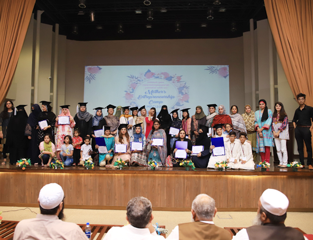 IBA CED organized a Graduation Ceremony for Kids Summer Entrepreneurship Camp