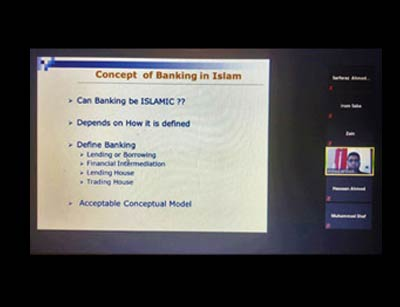 Guest Speaker Lecture on Islamic Banking Practices Industry Updates in Pakistan