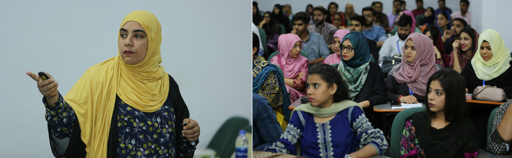 Guest Speaker Session at Iqra University