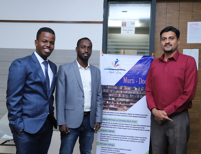 IBA CED had organized a session of Somalian students on 14th December, 2019