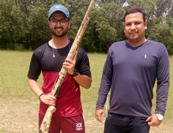 IBA student wins Gold in the HEC Inter-Varsity Men's Shooting Championship