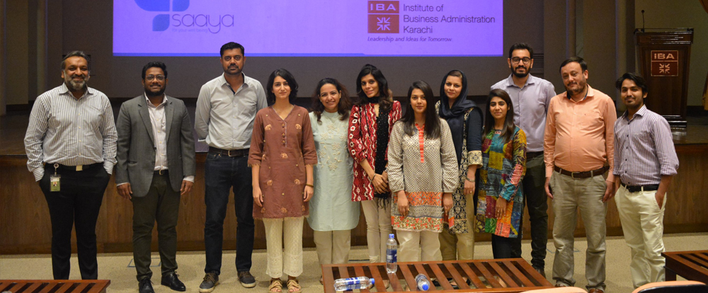 IBA, Karachi and Saaya Health collaborate to facilitate mental health counselling