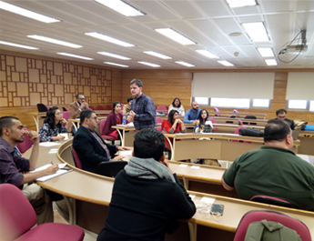 Feb 7, 2017: An Information Session on US Universities was arranged at IBA in collaboration with USEFP