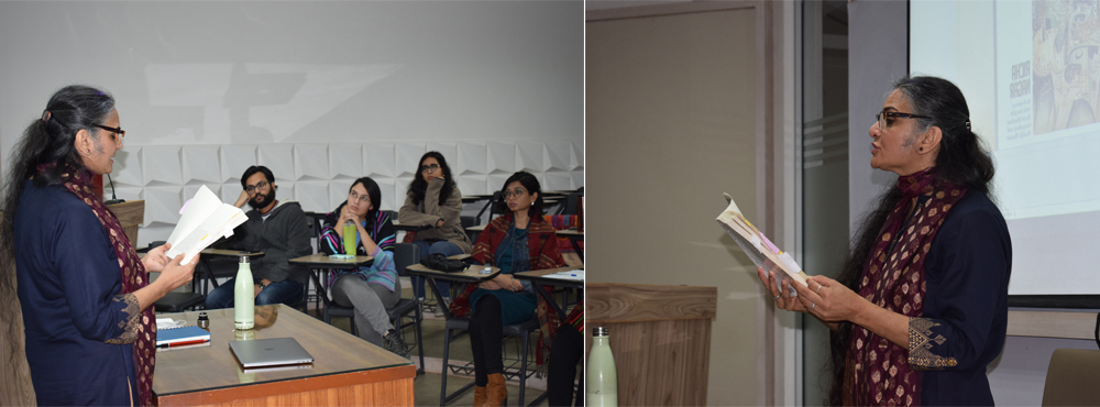 An interactive session by Dr. Richa Nagar on her book 'Hungry Translations'