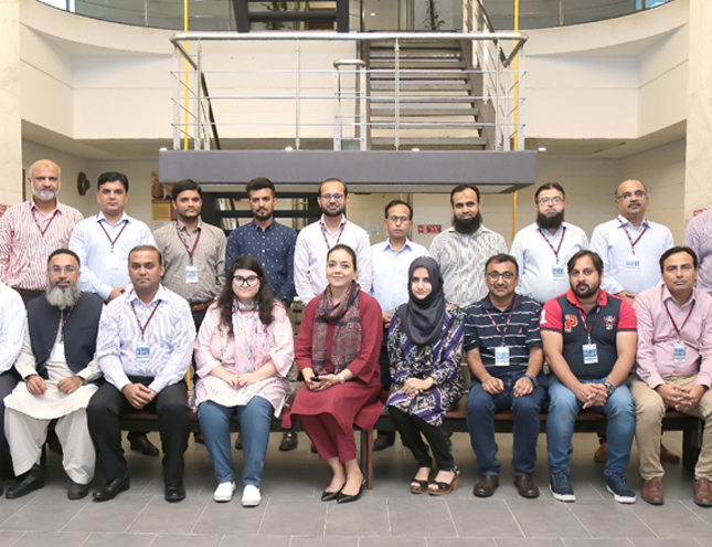 hosted a two-day workshop on Managerial Communication Strategies for Success
