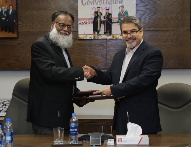 MOU Signing Ceremony between The IBA Karachi and G.E.A.R