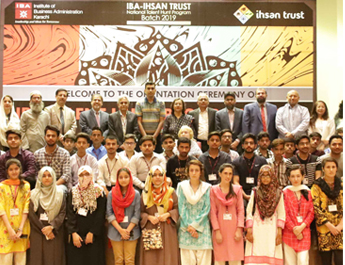 Jun 11, 2019: Orientation Ceremony IBA National Talent Hunt Program 2019