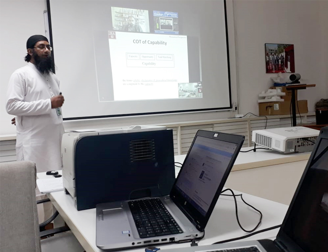 Apr 9, 2019: The Proposal Defense of Mr. Shakir Karim Buksh