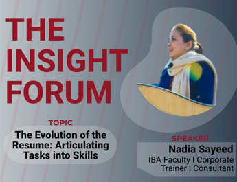 The Insight Forum | The Evolution of Resume