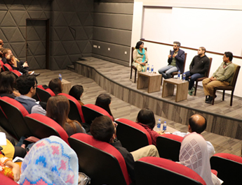 IBA Karachi's Journalism Society Organized a Panel Discussion
