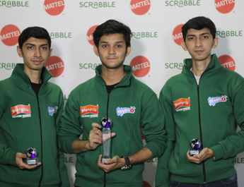 IBA Students win medals in the World Scrabble Championships