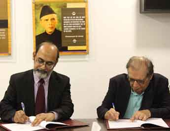 Nov 1, 2019: IBA and PEF ink MOU to facilitate students