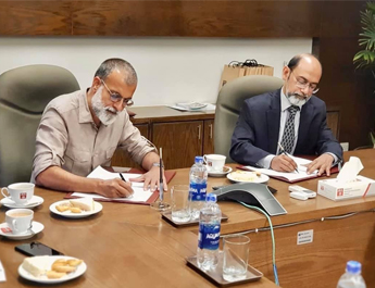 Nov 21, 2019: MoU Signing Ceremony between the IBA, Karachi and OTF