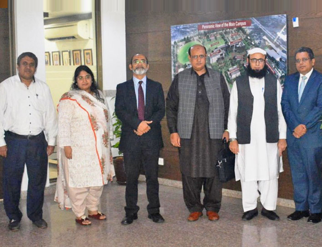 NBEAC and NCEAC Re-Accreditation Visit to the IBA, Karachi
