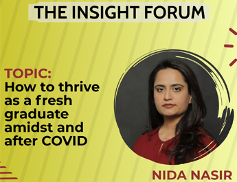 The Insight Forum | How to thrive as a fresh graduate amidst and after COVID