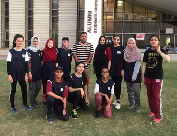 The IBA wins first Women Cricket Series