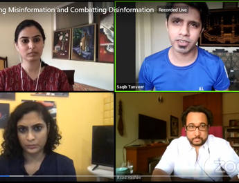 Webinar on Checking Misinformation and Combatting Disinformation