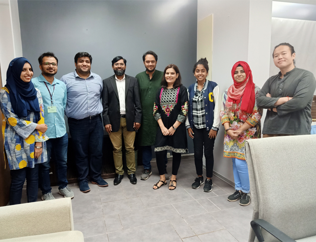 UNDP's Innovation AccLab Met with KUL at IBA Karachi