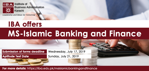 MS - Islamic Banking and Finance