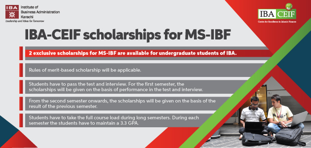 IBA-CEIF Scholarships for MS-IBF
