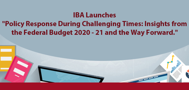 IBA Karachi launches book titled 'Policy Response During Challenging Times